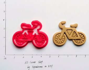 Bicycle Cookie Cutter not bicycle tie clip bicycle throw pillow bicycle tank bicycle tube bicycle thank you bicycle tool roll  59P