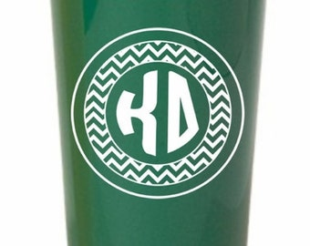 Kappa Delta Monogrammed Giant Plastic Cup