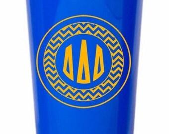 Delta Delta Delta Monogrammed Giant Plastic Cup