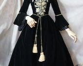 "SurfaceSpell ""House of Bourbon"" Original Baroque Embroidery OP, Multiple Colours. Antique Lolita Dress"