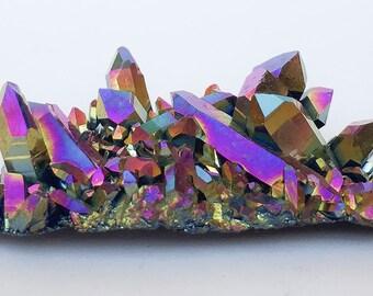 Titanium Aura Quartz - Rainbow or Flame