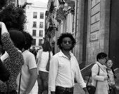 Street Photography, Valencia Photography: Rocker man