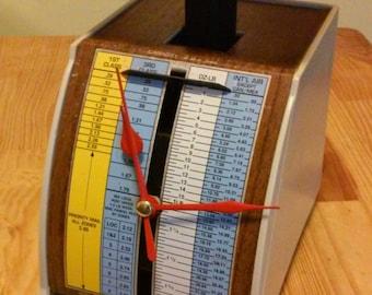 Vintage Postal Scale Clock - Conclocktion