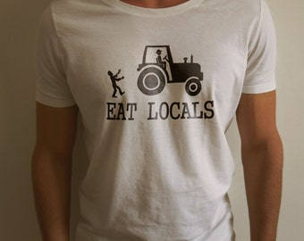 Eat Locals - Zombies Shirt