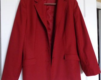 Talbot's Size Large Red Blazer