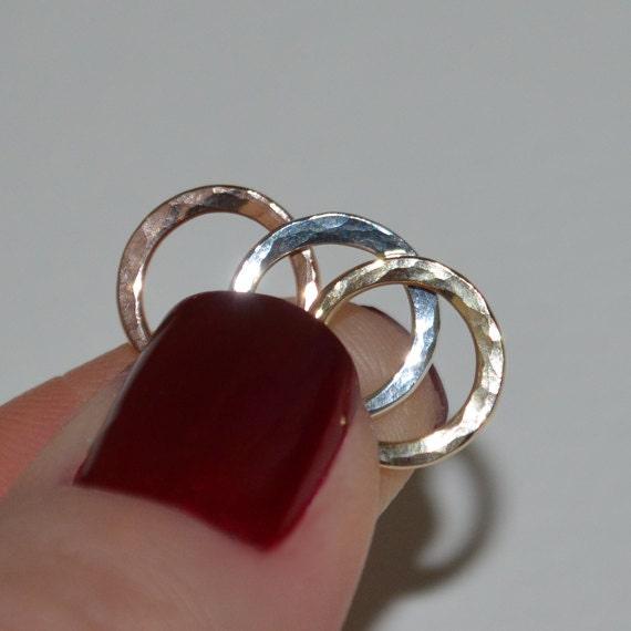 Septum Ring 16g Silver septum piercing Nose piercing Tragus