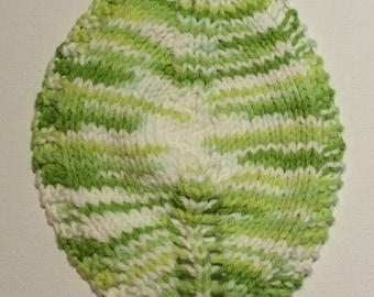 Spring leaf dishcloth