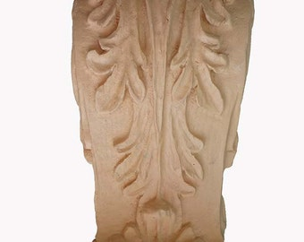 Decorative Corbels  |  Pair of Large Acanthus Leaf Style Corbels - Resin / Pre-primed