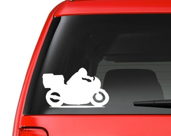 Motorcycle (M2) Vinyl Decal Sticker Car/Truck Laptop/Netbook Window