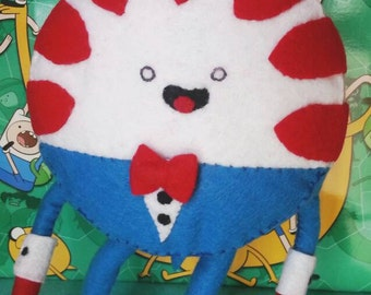 Peppermint Butler plush from Adventure Time