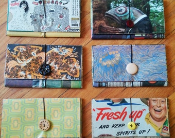 Recycled Newspaper Wallets