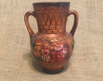 Vintage Norleans Vase Pottery Made in Japan