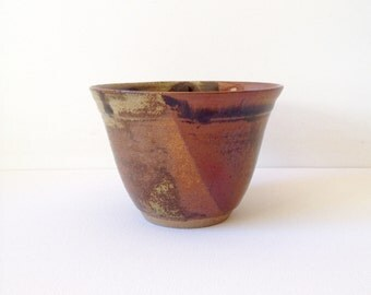 Handmade stoneware bowl. Tenmoku. Melbourne
