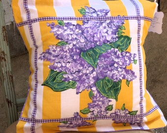 Hand-painted Floral Pillows