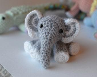 Elefante -- Stuffed Crochet Toy