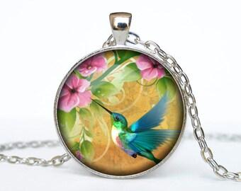 HUMMINGBIRDS pendant hummibirds jewelry hummibirds necklace