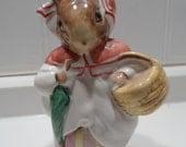 Mrs. Rabbit - Beatrix Potter Figurine