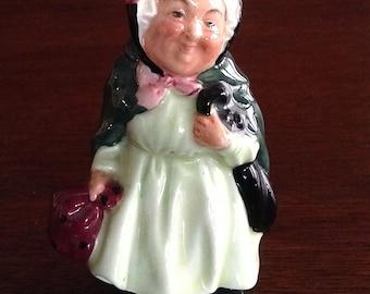 Royal Doulton Sairey Gamp Figurine England