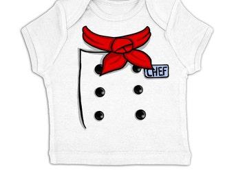 Chef Costume baby t-shirt