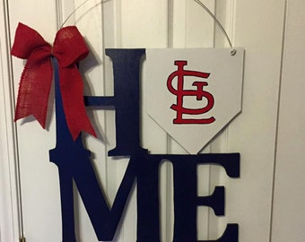 St Louis Cardinals Door Hanger
