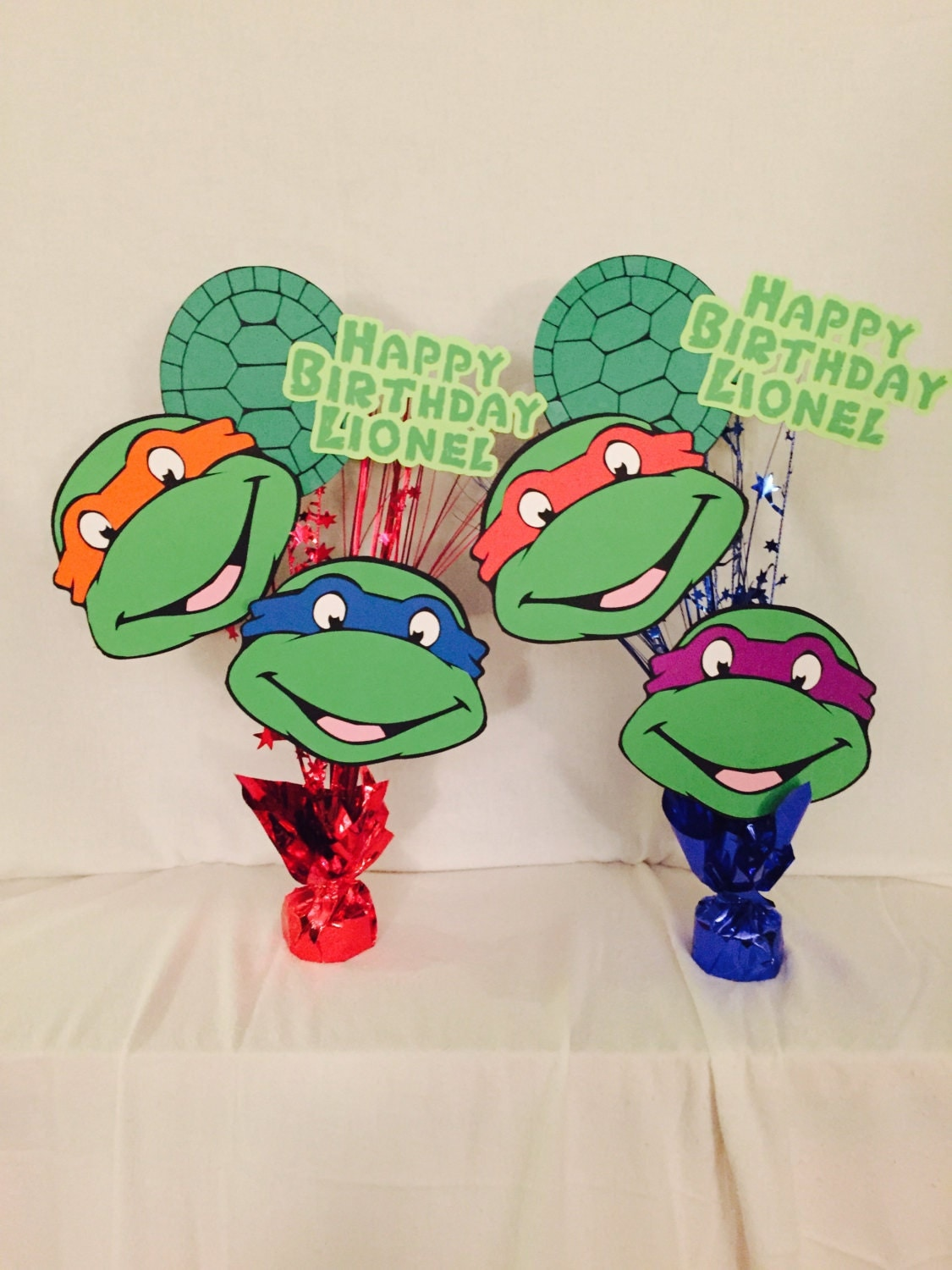 Teenage mutant ninja turtles birthday party by for Tmnt decorations