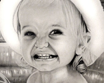Children's Pencil Portrait