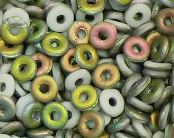 O Beads - #11 Chalk Vitreal - 3mm 5 grams