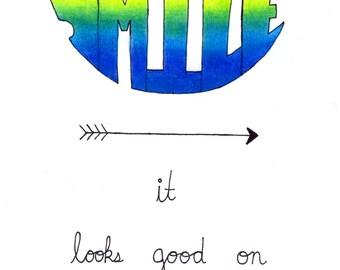Original Prismacolor Word Art