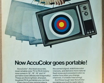 RCA Television Ad from 1971 (AD71-07)