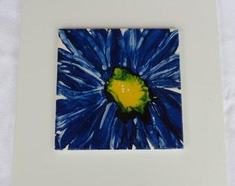 Blue Flower Burst