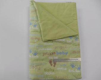Green Baby Blanket