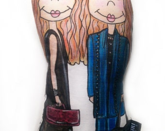 Mary Kate and Ashley Olsen Doll