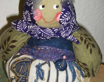 Babooshka Pincushion Doll-Galina