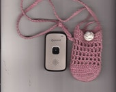 Commission a Hand Crocheted Little Bag to Hold Personal  Electronics Cell Phone Great Call (SM) & More