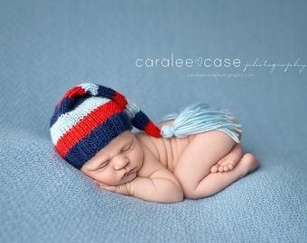Prescot - Newborn Tassel Stocking Hat
