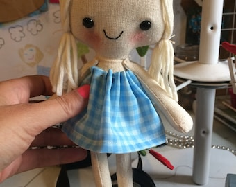 """If Elsa was a 10"""" Rag Doll this is what she would look like"""