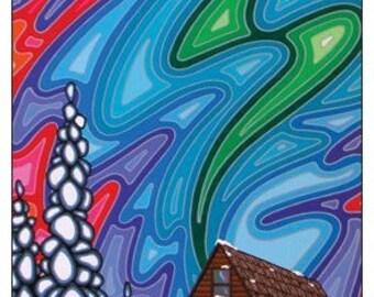 Let the Night Begin Original Artwork Magnet