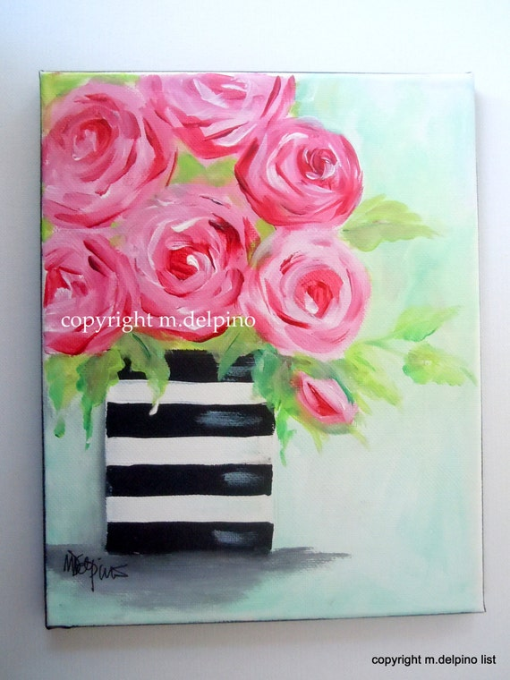Unavailable listing on etsy for Easy way to paint a rose