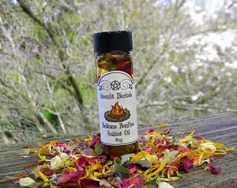 Beltane Bonfire Sabbat Oil - The Great Rite, Fiery Passion, Success, Raising Energy, Purification, Working with Fire Elementals, Pagan