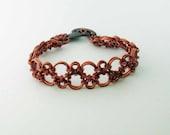 Copper Hodo Chainmaille Bracelet Handmade