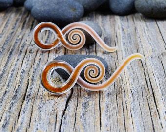 6G | Captured Autumn Seaglass | Mini Squids