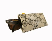 Bikes ) Squeeze Eyeglass Case Slash Sunglass Case
