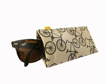 Bikes ) Squeeze Eyeglass Case Slash Sunglass Case