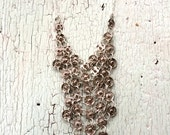 Delicate Chain Maille Necklace
