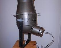 Vintage Repurposed Theater Light, Industrial/Steampunk Decor Darling!