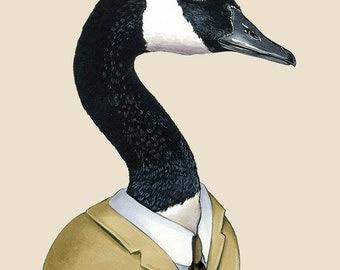 Canada Goose print 5x7