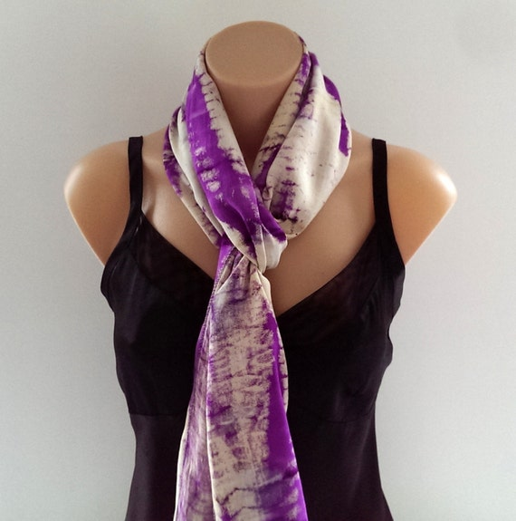 Large Purple Scarf Wrap