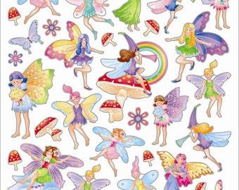 Fairy Fantasy Sticker • Garden Fairy • Garden Fairy Sticker • Gardening • Garden Party • Fairy Sticker • Kawaii Sticker (SK4220)