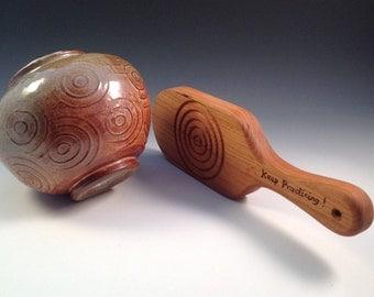 Simon Leach Pottery Circle Paddle