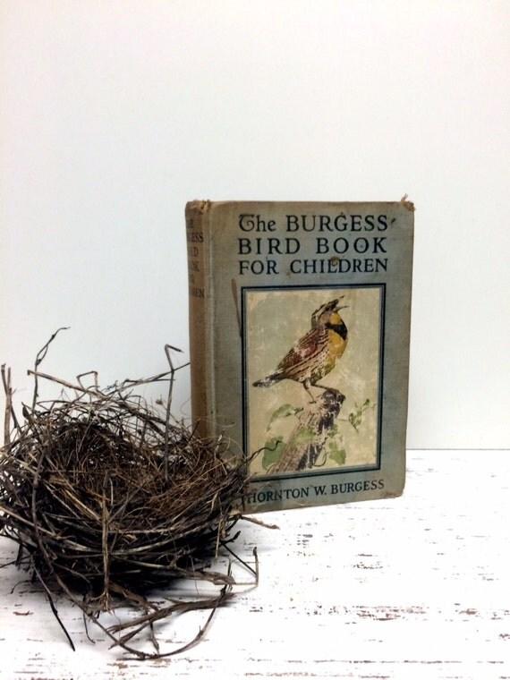 Burgess Bird Book For Children Burgess Bird Book By